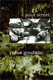 Cover of: Soul Street | Rufus Goodwin