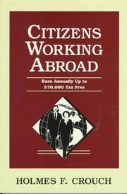 Cover of: Citizens working abroad