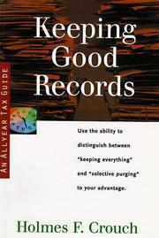 Cover of: Keeping good records