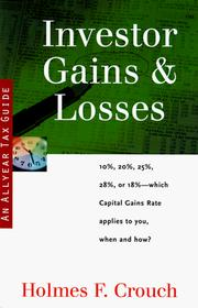 Cover of: Investor gains & losses