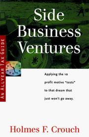 Cover of: Side business ventures