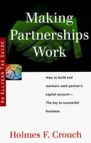 Cover of: Making Partnerships Work