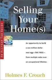 Cover of: Selling your home(s)