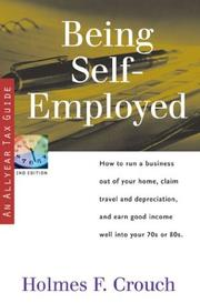 Cover of: Being self-employed
