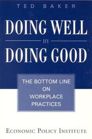 Cover of: Doing Well by Doing Good | Ted Baker
