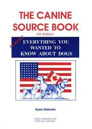 Cover of: The Canine Source Book