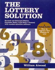Cover of: The lottery solution