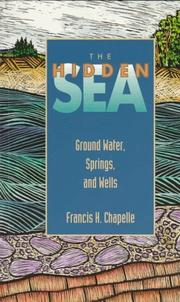 Cover of: The hidden sea