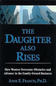 Cover of: The daughter also rises