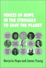 Cover of: Voices of hope in the struggle to save the planet
