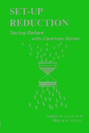 Cover of: Set-up reduction | Jerry Claunch