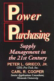 Power purchasing by Peter L. Grieco