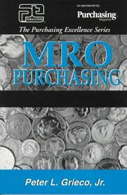 MRO purchasing by Peter L. Grieco