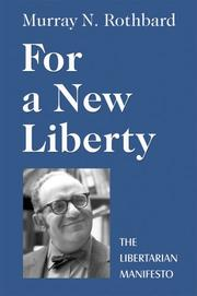 Cover of: For a New Liberty