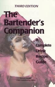 Cover of: The bartender