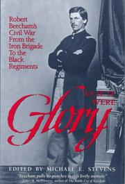 Cover of: As If It Were Glory