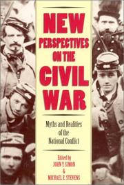 Cover of: New perspectives on the Civil War