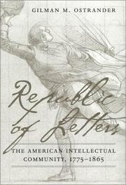 Cover of: Republic of letters