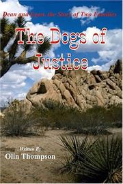 Cover of: The Dogs of Justice | Olin Thompson