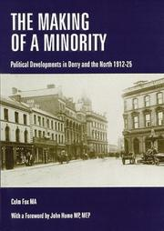 Cover of: The making of a minority