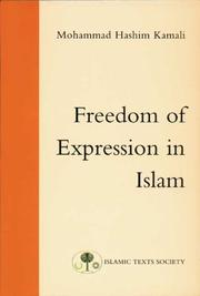 Cover of: Freedom of expression in Islam