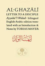 Cover of: Al-Ghazali Letter to a Disciple