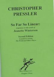 So Far So Linear by Christopher Pressler