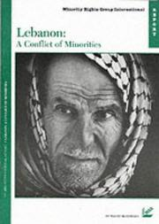 Cover of: Lebanon, a conflict of minorities