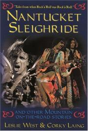 Cover of: Nantucket Sleighride | Leslie West