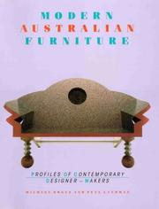 Cover of: Modern Australian furniture | Michael Bogle