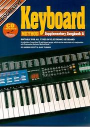 Cover of: Keyboard Method Supplement A | Andrew Scott