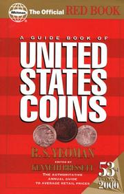 Cover of: A Guide Book of United States Coins 2000 (Guide Book of United States Coins (Paper), 2000) | R. S. Yeoman