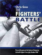Cover of: The Luftwaffe fighters' Battle of Britain