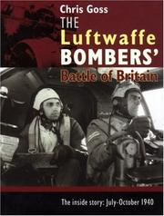 Cover of: The Luftwaffe bombers' Battle of Britain