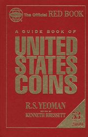 Cover of: A Guide Book of United States Coins 2000 | R. S. Yeoman