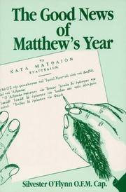 Cover of: The Good News of Matthew's Year (Good News)