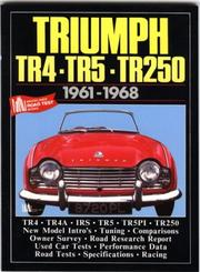 Cover of: Triumph TR4, TR5 & TR250 1961-68