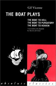 Cover of: The Boat Plays (Absolute Classics)