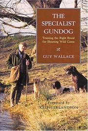 Cover of: The Specialist Gundog