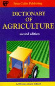 Cover of: Dictionary of Agriculture