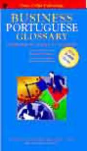 Cover of: Business glossary |