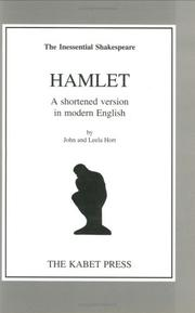 Cover of: Hamlet the Inessential Shakespeare