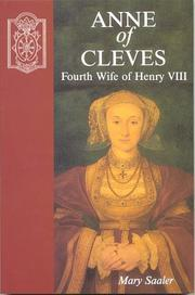 Cover of: Anne of Cleves, fourth wife of Henry VIII