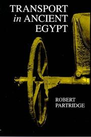 Cover of: Transport in Ancient Egypt | Robert B. Partridge