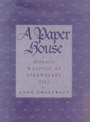 Cover of: A paper house