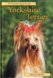 Cover of: YORKSHIRE TERRIER (Pet Owner's Guide)