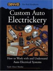Cover of: Custom Auto Electrickery