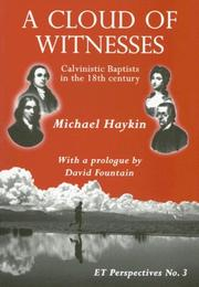Cover of: A Cloud of Witnesses | Michael Haykin