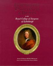 Cover of: Portraits, Paintings and Busts in the Royal College of Surgeons of Edinburgh | Alastair H.B. Masson