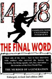 Cover of: 14-18 The Final Word